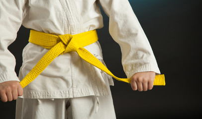 Karate Yellow Belt | Source: Adobe Stock