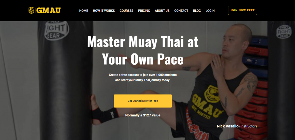 The GMAU Muay Thai Program